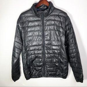 Smash Light Winter Puffer Coat Black Large